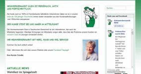Neue Website des Heimwerkermark Klein ist online